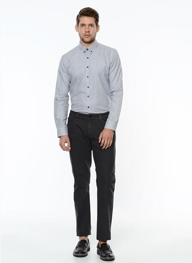 George Hogg Uzun Kollu Slim Fit Gömlek Siyah